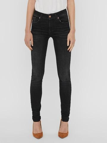 VERO MODA Jeans 'LUX' in Zwart