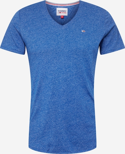 Tommy Jeans Shirt 'Jaspe' in blau, Produktansicht
