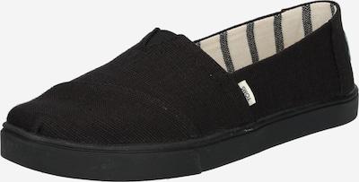 TOMS Slipper 'Alpagrata' in schwarz, Produktansicht
