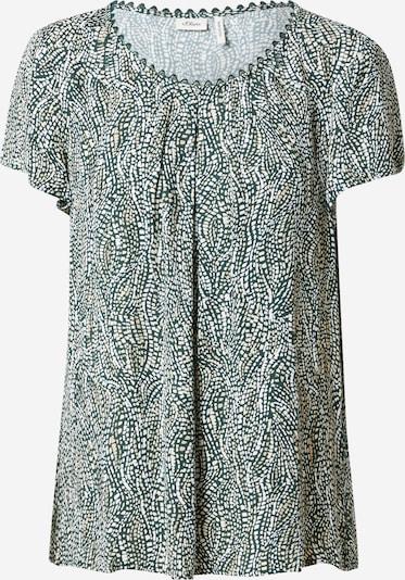 s.Oliver BLACK LABEL Bluse in grau / mischfarben, Produktansicht