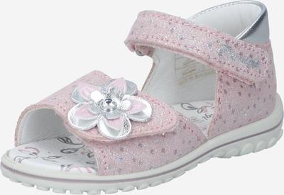 PRIMIGI Sandale in silbergrau / rosa, Produktansicht