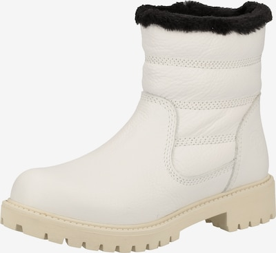 Darkwood Stiefelette in weiß, Produktansicht