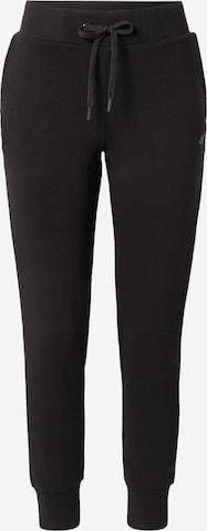 4F Παντελόνι φόρμας σε μαύρο