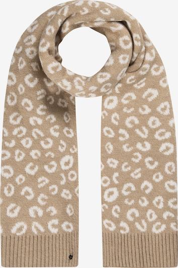 CODELLO Schal in beige / weiß, Produktansicht