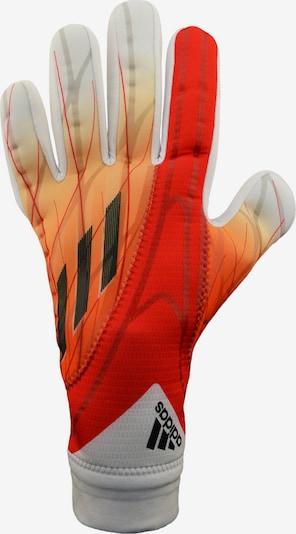 ADIDAS PERFORMANCE Sporthandschuhe in orange / rot / schwarz / weiß, Produktansicht