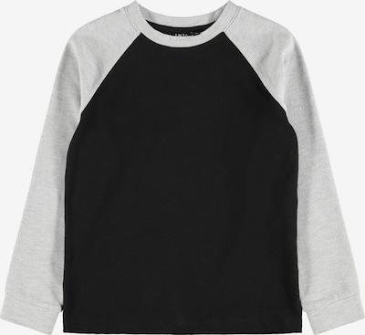LMTD Shirt in de kleur Lichtgrijs / Zwart, Productweergave