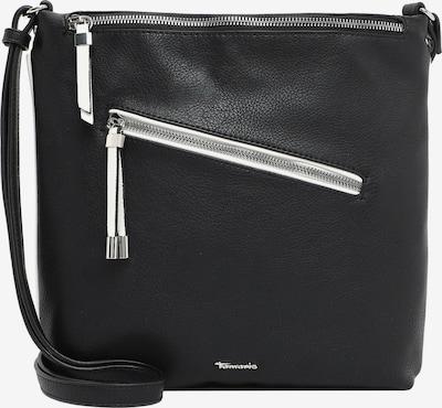TAMARIS Schoudertas 'Corinna' in de kleur Zwart / Wit, Productweergave