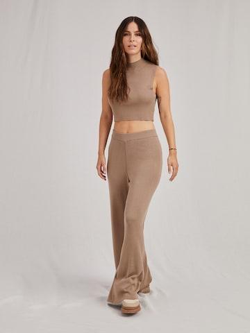 A LOT LESS Παντελόνι 'Fenja' σε μπεζ