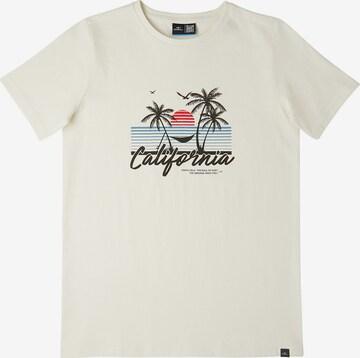 O'NEILL T-Shirt 'California Beach' in Weiß