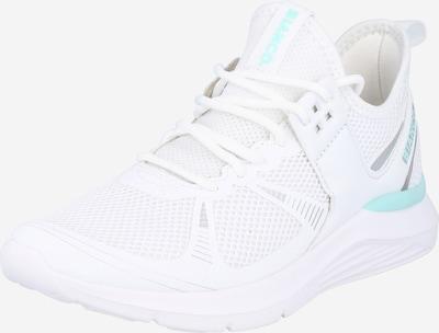 Bianco Zapatillas deportivas bajas 'CLIO' en aqua / blanco, Vista del producto
