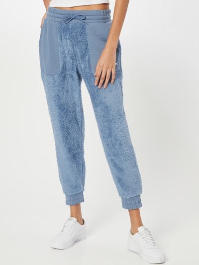 Reebok Sport Workout Pants in Smoke blue, View model