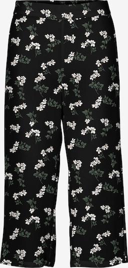 Pantaloni 'Saga' Vero Moda Curve pe verde închis / negru / alb, Vizualizare produs