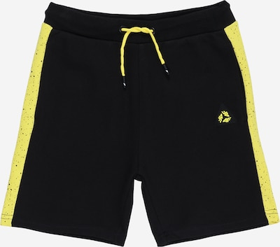 4F Shorts in gelb / schwarz, Produktansicht