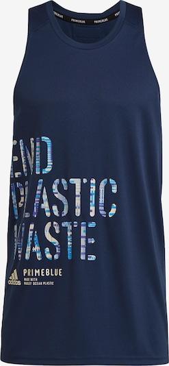 ADIDAS PERFORMANCE Koszulka funkcyjna w kolorze beżowy / niebieski / ciemny niebieskim, Podgląd produktu