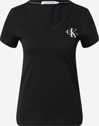 Calvin Klein Jeans Koszulka w kolorze oliwkowy / czarny / białym, Podgląd produktu
