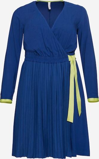 SHEEGO Kleid in royalblau / limette, Produktansicht