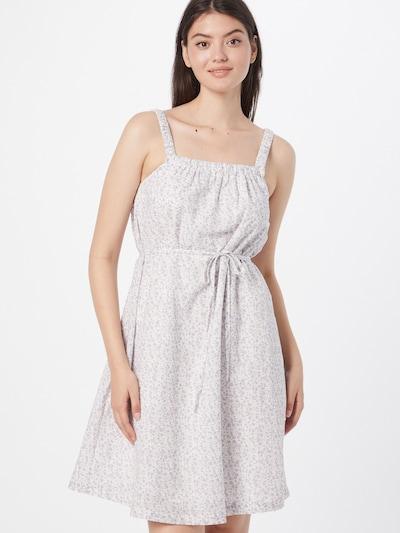 SISTERS POINT Kleid 'ETSI-DR' in creme / oliv / lavendel, Modelansicht