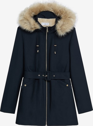 MANGO Zimska jakna | marine barva, Prikaz izdelka