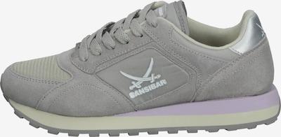 SANSIBAR Sneaker in anthrazit / helllila / offwhite, Produktansicht