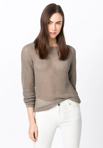 HALLHUBER Pullover in beige, Modelansicht