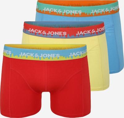 JACK & JONES Boksershorts 'GRAFTI' i blå / gul / rød, Produktvisning