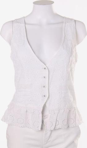 NILE Vest in S in White