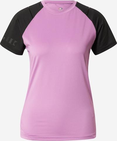 Rukka Sporta krekls 'MENON', krāsa - lillā / melns, Preces skats