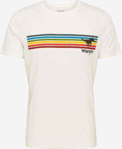 WRANGLER Skjorte 'EXPLORER' i blandingsfarvet / offwhite: Frontvisning