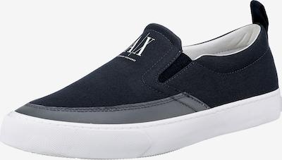 ARMANI EXCHANGE Sneaker in dunkelblau / weiß, Produktansicht