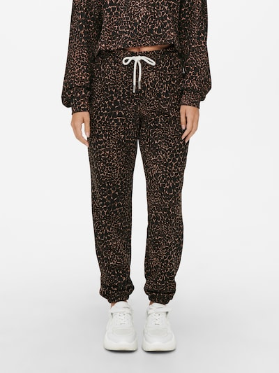 ONLY Sweatpant 'Funky' in braun, Modelansicht