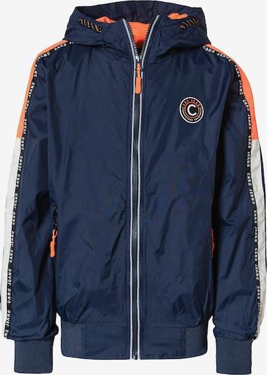 Cars Jeans Jacke 'Galway' in navy / orange / schwarz / weiß, Produktansicht