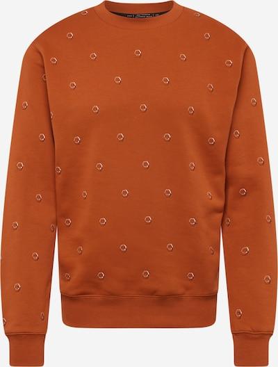 SCOTCH & SODA Sweatshirt in navy / dunkelorange / weiß, Produktansicht