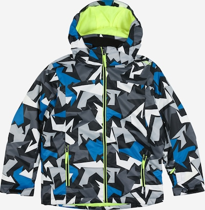CMP Jacke in blau / grau / schwarz, Produktansicht