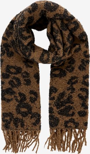 PIECES Schal in braun / schwarz, Produktansicht