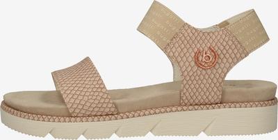 bugatti Sandalen in beige, Produktansicht