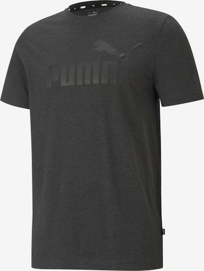 PUMA T-Shirt fonctionnel en gris foncé / noir, Vue avec produit