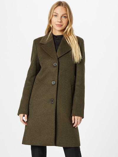 SELECTED FEMME Between-Seasons Coat 'Sasja' in Green, View model