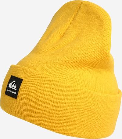 QUIKSILVER Sportmütze 'BRIGADE' in gelb / schwarz / weiß, Produktansicht