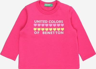 UNITED COLORS OF BENETTON Shirt in hellblau / gelb / pink / rosa, Produktansicht