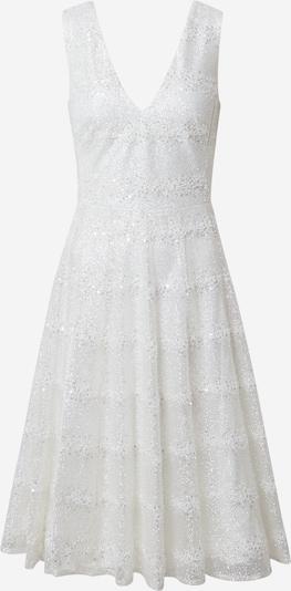 STAR NIGHT Robe de cocktail en argent / blanc cassé, Vue avec produit