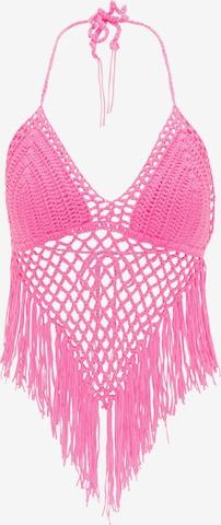 MYMO Gebreide top in Roze