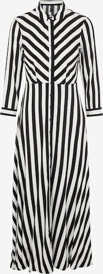 Y.A.S Dolga srajca 'Savanna' | črna / bela barva, Prikaz izdelka