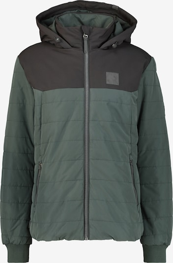 Alife and Kickin Jacke 'Mr Black' in grün / dunkelgrün, Produktansicht