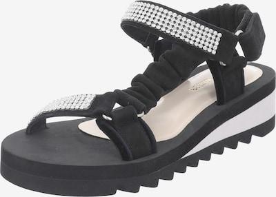 GERRY WEBER SHOES Sandale 'Geli 01' in schwarz / silber, Produktansicht