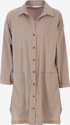 HELMIDGE Bluse in Beige