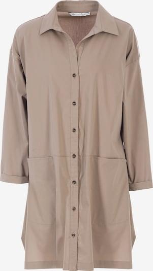 HELMIDGE Bluse in dunkelbeige, Produktansicht
