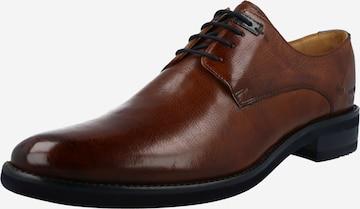 MELVIN & HAMILTON Обувки с връзки 'Clint' в кафяво