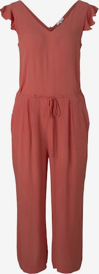 TOM TAILOR Jumpsuit in de kleur Roestrood, Productweergave