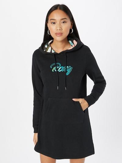 ROXY Klänning i blandade färger / svart: Sedd framifrån