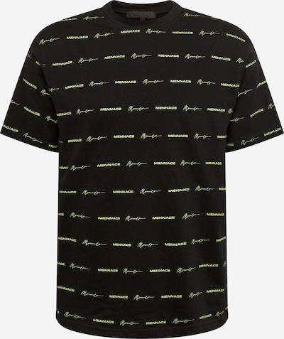 Mennace Tričko - neónovo žltá / čierna, Produkt